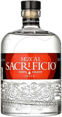 38,95 € Free Shipping | Mezcal Sacrificio Blanco Mexico Bottle 70 cl