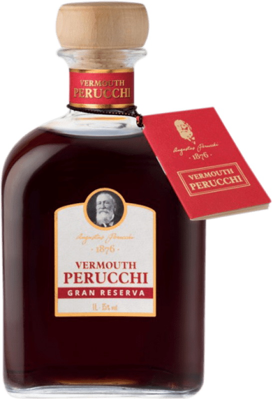 13,95 € Free Shipping | Vermouth Perucchi Gran Reserva Spain Missile Bottle 1 L