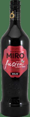 16,95 € Envoi gratuit | Vermouth Miró Edición Paco Pérez Espagne Bouteille Missile 1 L