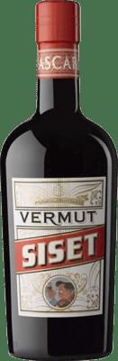 8,95 € Envío gratis | Vermut Siset España Botella 75 cl
