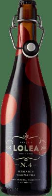 8,95 € Kostenloser Versand | Wein Sangria Lolea Nº 4 Organic Spanien Flasche 75 cl