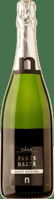 9,95 € Free Shipping | White sparkling Parés Baltà Brut Nature Reserva D.O. Cava Catalonia Spain Macabeo, Xarel·lo, Parellada Bottle 75 cl