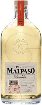 19,95 € Envío gratis | Pisco Hacienda Mal Paso Malpaso Reserva Chile Botella 70 cl