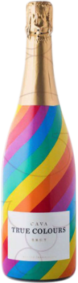 9,95 € Free Shipping   White sparkling Vinoterra True Colours Brut Joven D.O. Cava Catalonia Spain Macabeo, Xarel·lo, Chardonnay, Parellada Bottle 75 cl   Thousands of wine lovers trust us to get the best price guarantee, free shipping always and hassle-free shopping and returns.
