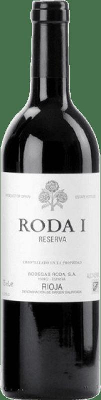 92,95 € Envoi gratuit | Vin rouge Bodegas Roda Roda I Reserva D.O.Ca. Rioja La Rioja Espagne Tempranillo Bouteille Magnum 1,5 L