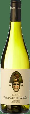 6,95 € 免费送货 | 白酒 Martín Códax Terras do Cigarrón D.O. Monterrei 西班牙 Godello 瓶子 75 cl | 成千上万的葡萄酒爱好者信赖我们,保证最优惠的价格,免费送货,购买和退货,没有复杂性.
