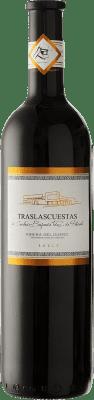 8,95 € 送料無料 | 赤ワイン Traslascuestas Joven D.O. Ribera del Duero スペイン Tempranillo ボトル 75 cl | 何千ものワイン愛好家が最高の価格を保証し、常に無料で出荷し、購入して合併症を起こすことなく返品します.