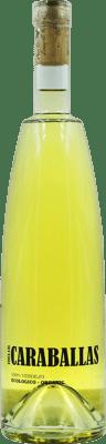 9,95 € Kostenloser Versand | Weißwein Finca Las Caraballas Joven D.O. Rueda Spanien Verdejo Flasche 75 cl