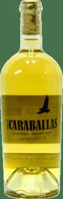 13,95 € 免费送货 | 白酒 Finca Las Caravallas Joven D.O. Rueda 西班牙 Cabernet Sauvignon 瓶子 75 cl | 成千上万的葡萄酒爱好者信赖我们,保证最优惠的价格,免费送货,购买和退货,没有复杂性.
