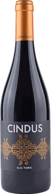 8,95 € Free Shipping | Red wine Legado de Orniz Cindus Crianza D.O. Toro Spain Tinta de Toro Bottle 75 cl