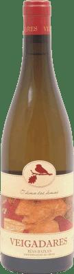 14,95 € 免费送货 | 白酒 Adegas Galegas Veigadares D.O. Rías Baixas 西班牙 瓶子 75 cl | 成千上万的葡萄酒爱好者信赖我们,保证最优惠的价格,免费送货,购买和退货,没有复杂性.