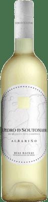 12,95 € 免费送货 | 白酒 Adegas Galegas Don Pedro de Soutomaior Neve D.O. Rías Baixas 西班牙 Albariño 瓶子 75 cl | 成千上万的葡萄酒爱好者信赖我们,保证最优惠的价格,免费送货,购买和退货,没有复杂性.