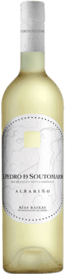 12,95 € Free Shipping | White wine Adegas Galegas Don Pedro de Soutomaior Neve D.O. Rías Baixas Spain Albariño Bottle 75 cl | Thousands of wine lovers trust us to get the best price guarantee, free shipping always and hassle-free shopping and returns.