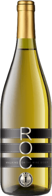 13,95 € 免费送货 | 白酒 Esencias RO&C Verdejo Joven D.O. Rueda 卡斯蒂利亚莱昂 西班牙 Chardonnay, Verdejo 瓶子 75 cl