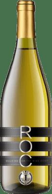 11,95 € Envío gratis | Vino blanco Esencias RO&C Verdejo Joven D.O. Rueda Castilla y León España Chardonnay, Verdejo Botella 75 cl