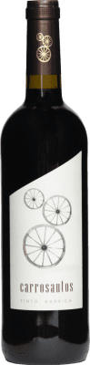 1,95 € Envio grátis | Vinho tinto Thesaurus Carrosantos Joven I.G.P. Vino de la Tierra de Castilla y León Castela e Leão Espanha Tempranillo Garrafa 75 cl