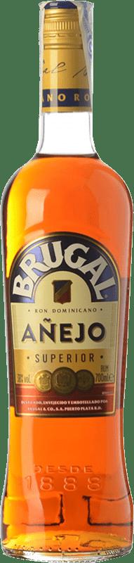 19,95 € Free Shipping | Rum Brugal Añejo Dominican Republic Missile Bottle 1 L