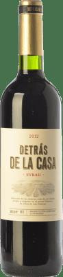 37,95 € Envío gratis | Vino tinto Castaño Detrás de la Casa Crianza D.O. Yecla Región de Murcia España Syrah Botella Mágnum 1,5 L