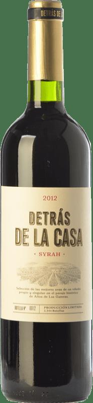 37,95 € Envoi gratuit | Vin rouge Castaño Detrás de la Casa Crianza D.O. Yecla Région de Murcie Espagne Syrah Bouteille Magnum 1,5 L