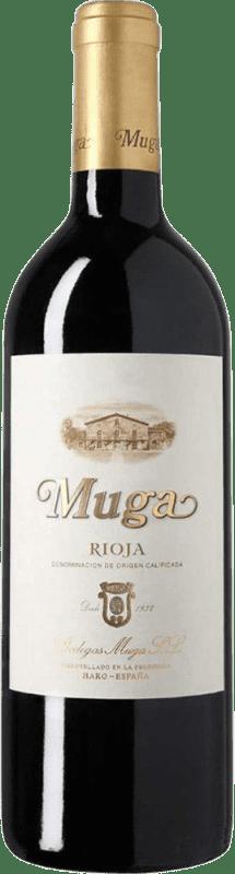 37,95 € Envoi gratuit | Vin rouge Muga Crianza D.O.Ca. Rioja La Rioja Espagne Tempranillo, Grenache, Graciano, Mazuelo Bouteille Magnum 1,5 L