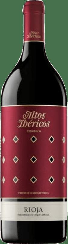 16,95 € Free Shipping | Red wine Torres Altos Ibéricos Crianza D.O.Ca. Rioja The Rioja Spain Tempranillo Magnum Bottle 1,5 L