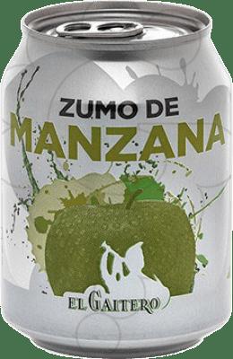 0,95 € Free Shipping | Refreshment El Gaitero Zumo de Manzana Spain Small Bottle 25 cl