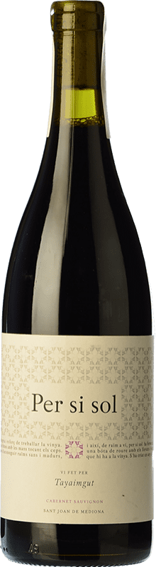 13,95 € Free Shipping   Red wine Tayaimgut Per si sol Tinto Crianza D.O. Catalunya Catalonia Spain Cabernet Sauvignon Bottle 75 cl