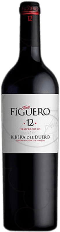 498,95 € Free Shipping | Red wine Figuero 12 Meses Crianza D.O. Ribera del Duero Castilla y León Spain Tempranillo Botella Nabucodonosor 15 L