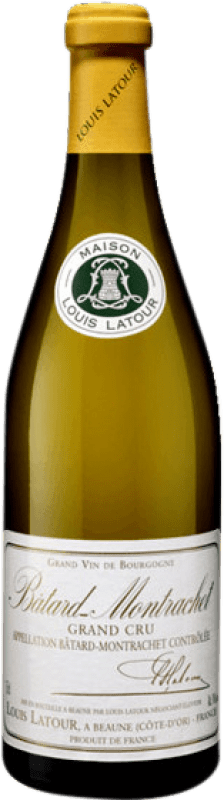 274,95 € Free Shipping | White wine Louis Latour Grand Cru Crianza A.O.C. Bâtard-Montrachet Burgundy France Chardonnay Bottle 75 cl