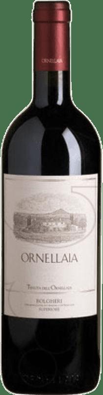 447,95 € Free Shipping | Red wine Ornellaia D.O.C. Bolgheri Tuscany Italy Merlot, Cabernet Sauvignon, Cabernet Franc, Petit Verdot Magnum Bottle 1,5 L