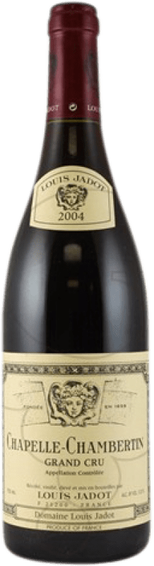 226,95 € Free Shipping | Red wine Louis Jadot Chapelle 2004 A.O.C. Chambertin Burgundy France Pinot Black Bottle 75 cl