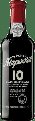 17,95 € Envío gratis | Vino tinto Niepoort 10 Years Old I.G. Porto Porto Portugal Touriga Franca, Touriga Nacional, Tinta Roriz Media Botella 37 cl