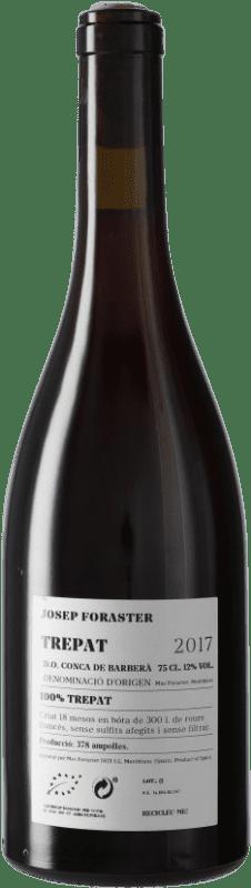 12,95 € Free Shipping | Red wine Josep Foraster 18 Mesos Crianza D.O. Conca de Barberà Catalonia Spain Trepat Bottle 75 cl