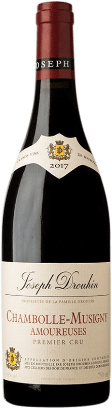 505,95 € Free Shipping | Red wine Drouhin 1er Cru Amoureuses A.O.C. Chambolle-Musigny Burgundy France Pinot Black Bottle 75 cl