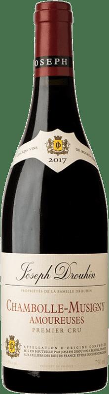 505,95 € Envío gratis   Vino tinto Drouhin 1er Cru Amoureuses A.O.C. Chambolle-Musigny Borgoña Francia Pinot Negro Botella 75 cl