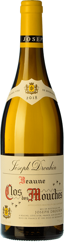 145,95 € Free Shipping   White wine Drouhin 1er Cru Clos des Mouches Blanc A.O.C. Beaune Burgundy France Chardonnay Bottle 75 cl