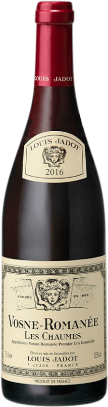 159,95 € Free Shipping | Red wine Louis Jadot 1er Cru Les Chaumes A.O.C. Vosne-Romanée Burgundy France Pinot Black Bottle 75 cl