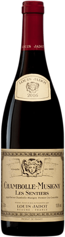 105,95 € Free Shipping | Red wine Louis Jadot 1er Cru Les Sentiers A.O.C. Chambolle-Musigny Burgundy France Bottle 75 cl
