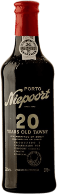 33,95 € Kostenloser Versand | Rotwein Niepoort 20 Years Old I.G. Porto Porto Portugal Touriga Franca, Touriga Nacional, Tinta Roriz Halbe Flasche 37 cl