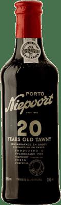 33,95 € Envío gratis | Vino tinto Niepoort 20 Years Old I.G. Porto Porto Portugal Touriga Franca, Touriga Nacional, Tinta Roriz Media Botella 37 cl
