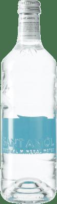 0,95 € Envío gratis | Agua Sant Aniol Agua Mineral Cataluña España Botella Medium 50 cl