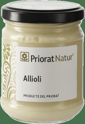 5,95 € Envío gratis | Salsas y Cremas Priorat Natur Allioli España