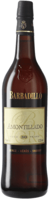 103,95 € Free Shipping | Fortified wine Barbadillo Amontillado V.O.R.S. Very Old Rare Sherry D.O. Jerez-Xérès-Sherry Andalusia Spain Palomino Fino Bottle 75 cl