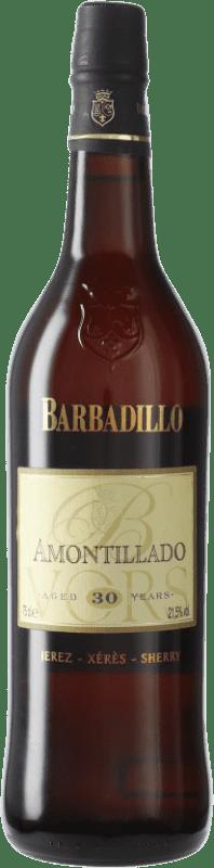 102,95 € Envío gratis   Vino generoso Barbadillo Amontillado V.O.R.S. Very Old Rare Sherry D.O. Jerez-Xérès-Sherry Andalucía España Palomino Fino Botella 75 cl