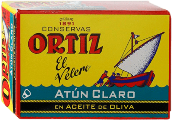 2,95 € Free Shipping | Conservas de Pescado Ortíz Atún en Aceite de Oliva Spain