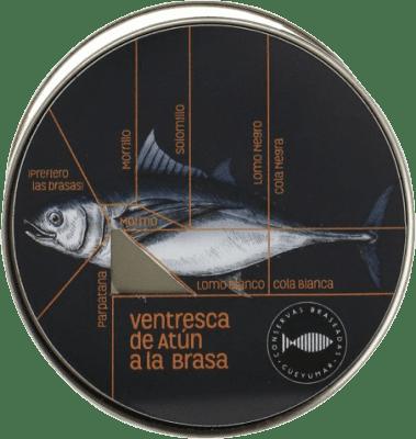 27,95 € Kostenloser Versand | Conservas de Pescado Güeyu Mar Atún Rojo Salvaje Fürstentum Asturien Spanien
