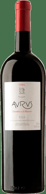 1 449,95 € Envío gratis | Vino tinto Allende Aurus 1996 D.O.Ca. Rioja España Tempranillo, Graciano Botella Salmanazar 9 L