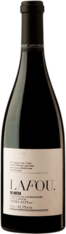 42,95 € Envío gratis | Vino tinto Lafou Batea D.O. Terra Alta Cataluña España Syrah, Garnacha, Cabernet Sauvignon Botella 75 cl