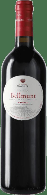13,95 € Envío gratis | Vino tinto Mas d'en Gil Bellmunt del Priorat D.O.Ca. Priorat Cataluña España Botella 75 cl