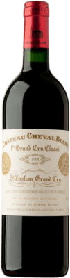715,95 € Free Shipping | Red wine Château Cheval Blanc 1998 A.O.C. Saint-Émilion Bordeaux France Merlot, Cabernet Franc Bottle 75 cl